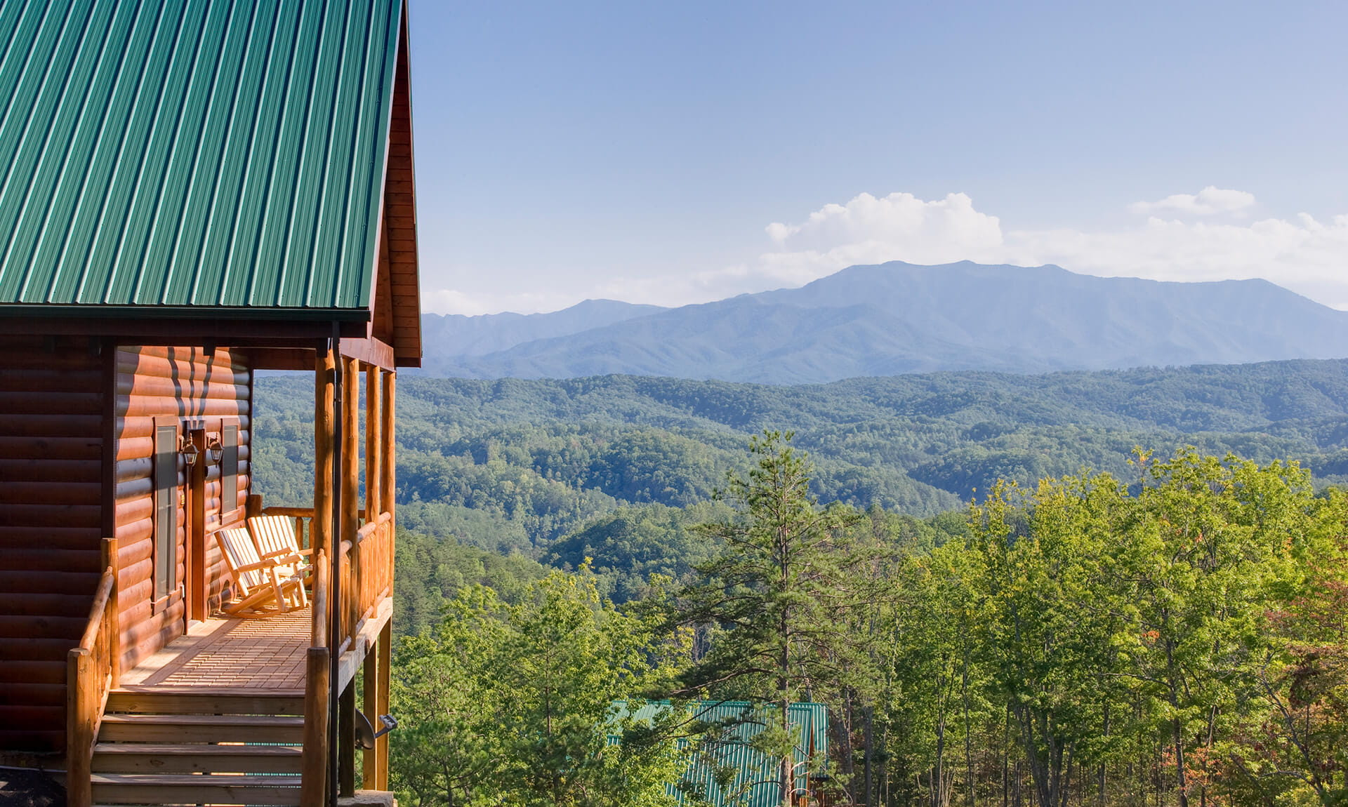 Appalachian Trail Cabin View